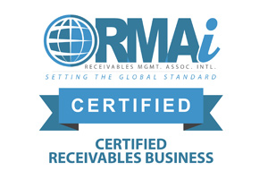 Affiliate Member of RMAI, Receivables Management Association International